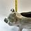 Thumbnail: Terracotta piglet planter