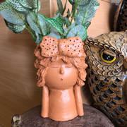 Terracottq lady hb planter