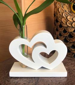 DBL hearts sm white