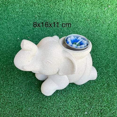 Baby sandstone elephant new