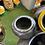Thumbnail: Terracotta water feature  dark grey