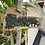 Thumbnail: Elephant teak carving