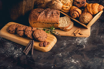 bread-cookies-with-chocolates-concrete-t