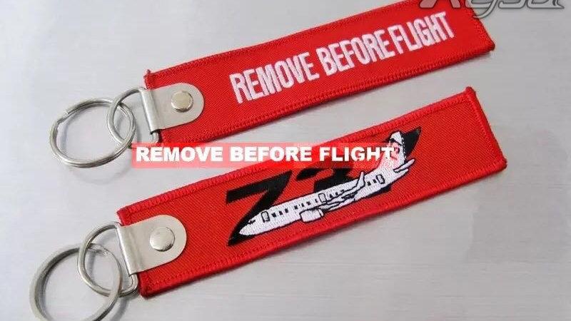 737 REMOVE BEFORE FLIGHT