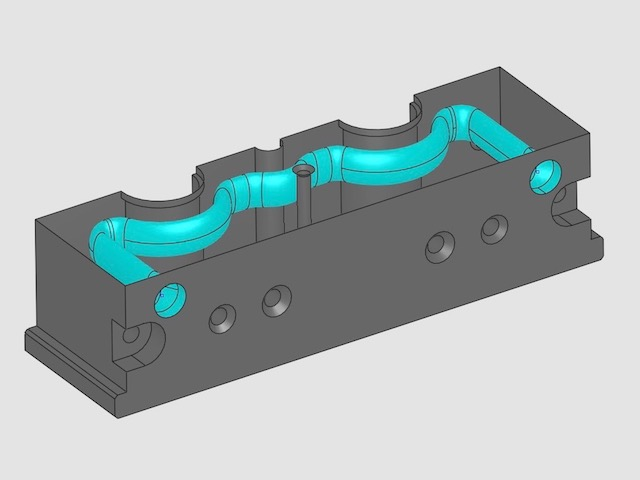 Mold with Conformal Cooling