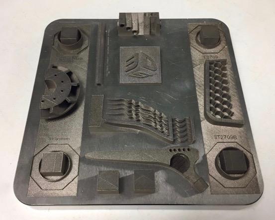 3D Test Plate