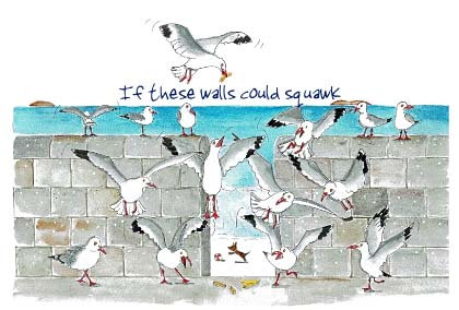 If these walls could squawk