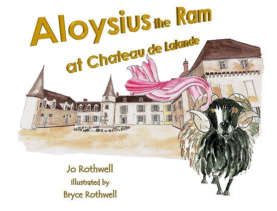 Aloysius the Ram at Chateau de Lalande