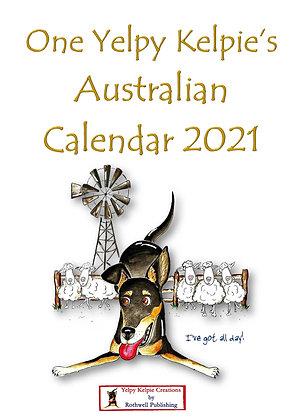 One Yelpy Kelpie's 2021 Calendar