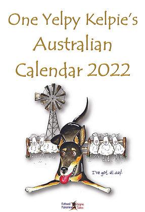 One Yelpy Kelpie's 2022 Calendar