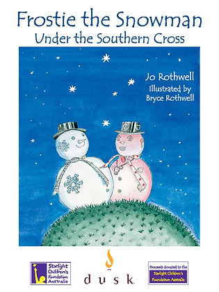 Frostie the Snowman Under the Southern Cross