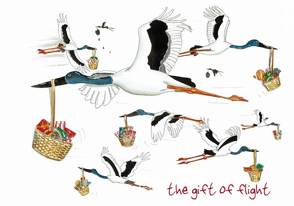 The gift of flight
