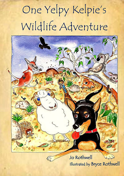 Rothwell Publishing Australian animals childrens book