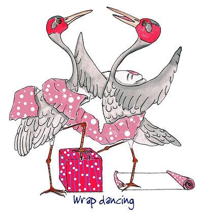 Wrap dancing