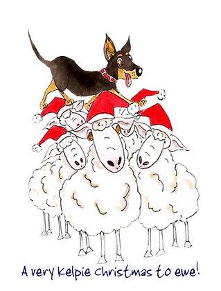 A very Kelpie Christmas to ewe!