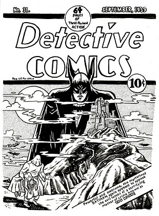 Cover Recreation - Detective Comics Issue 31