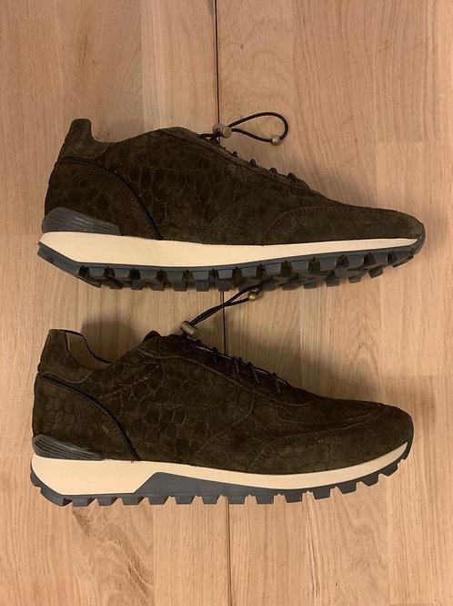 0113 Groen suède sneaker ViaVai