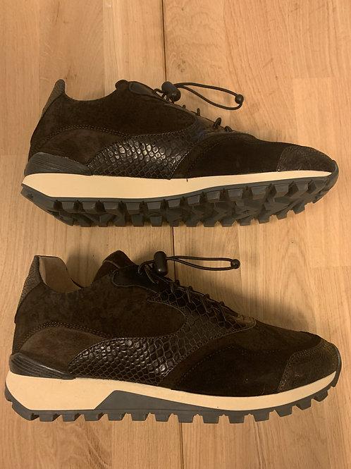 0109 Zwarte sneaker ViaVai met bruin