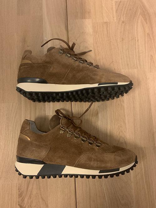 0101 Lichtbruine suède sneaker ViaVai