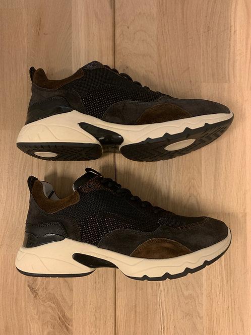 0115 Zwarte sneaker ViaVai met kleurcombinatie