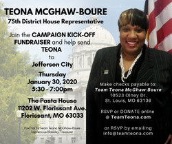 Teona McGhaw-Boure - campaign kick-off