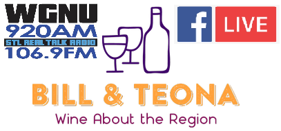 Bill and Teona new logo WGNU - Facebook