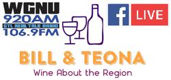 Bill and Teona new logo WGNU - Facebook