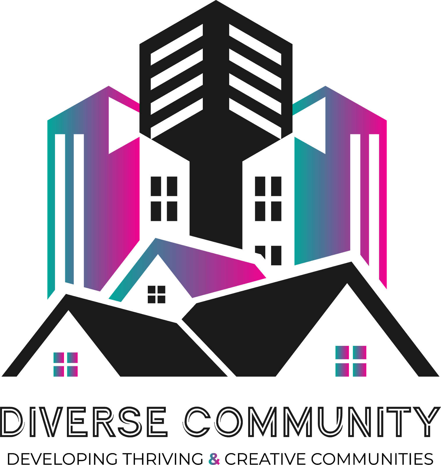 Diverse Community Official Logo