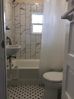 E unit bathroom