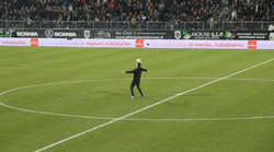 Angers Sco show freestyle football