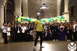 Corentin Baron Paris Euro 2016 champion Freestyle Football show spectacle animation jongleur jonglag
