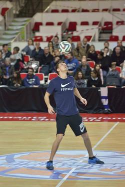 Cholet Mondial Basket Ball freestyle