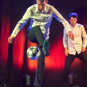 Show Freestyle Foot en trio en Vendée