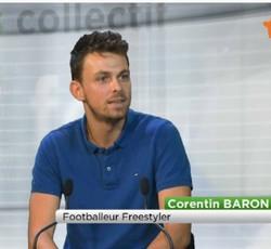 Corentin Baron Angers Télé émission