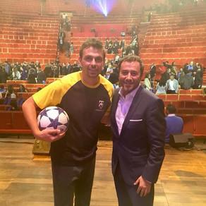 Show Freestyle Football au palais des congrès de Lyon