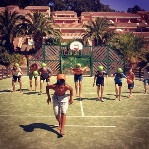 Animation freestyle football foot village club vacances air france saint tropez