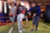 Initiation football freestyle avec l'équipe Trick Me pour apprende les bases de la discipline, les gestes techniques et figures avec le ballon. Démonstrations et show dans la boutique du PSG à Paris Champs Elysée.r l