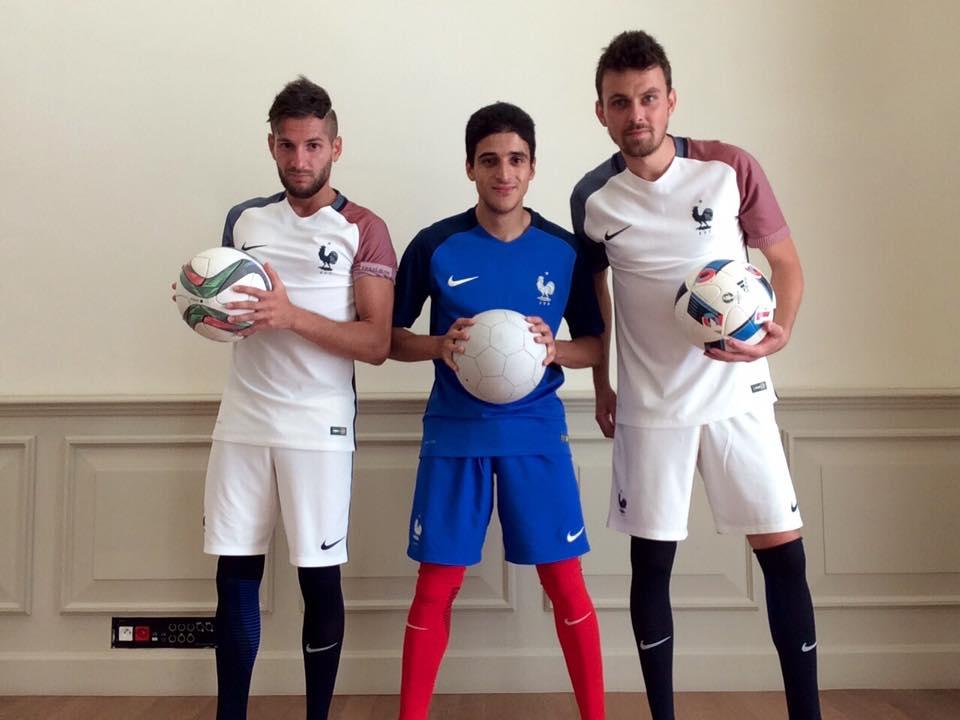 L'équipe Trick Me en show football freestyle à Marseille pour Hyundai foot joueur jonglage champion