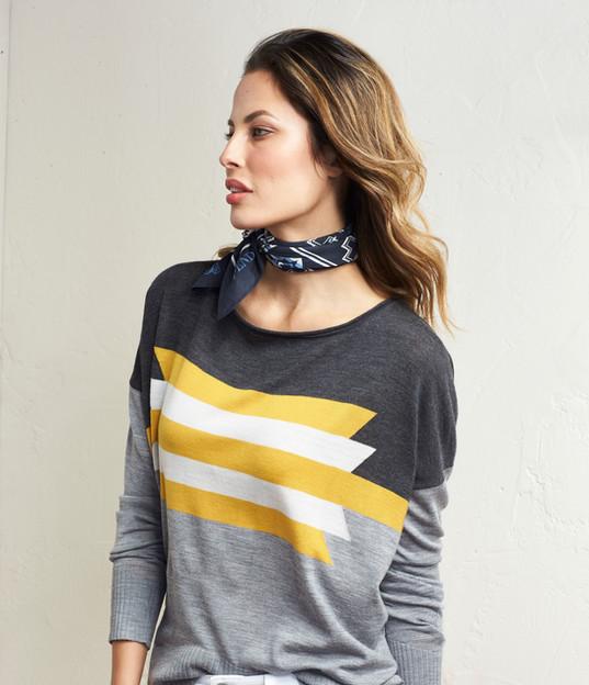 Merino Graphic Pullover
