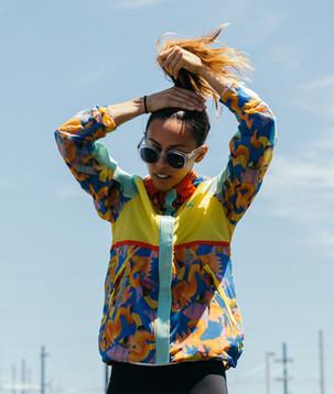 SP16_women's Poler printed jacket