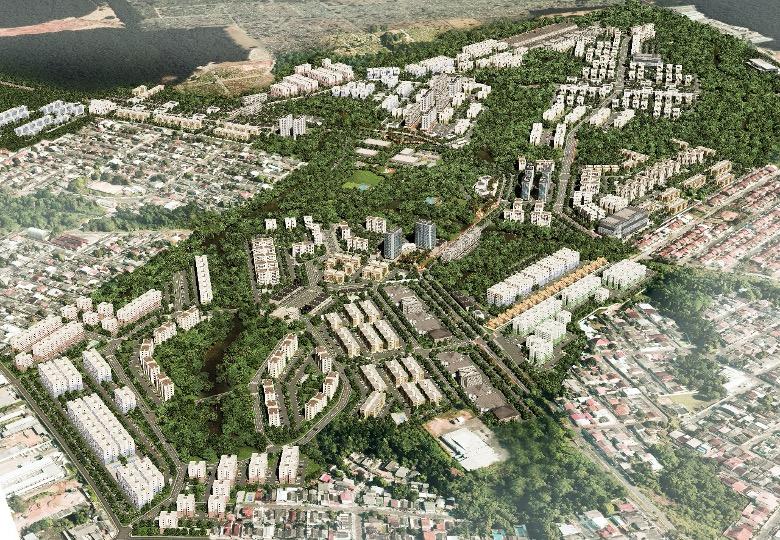 Parque Mosaico - Foto Aérea