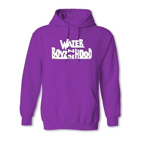 Water Boyz N The Hood - Purple Hoodie