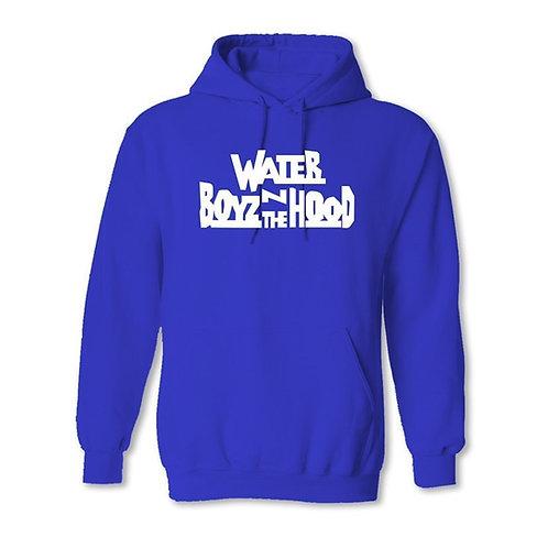 Water Boyz N The Hood - Blue Hoodie