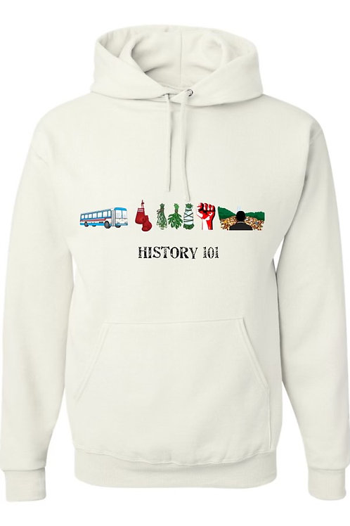 HISTORY 101 Hoodie - CREATE BY CHARLIE CHUCK