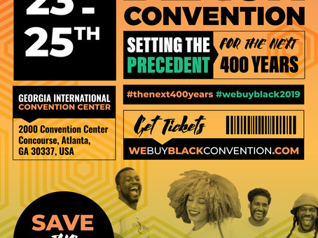 2019 We Buy Black Convention