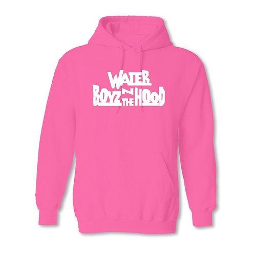 Water Boyz N The Hood - Pink Hoodie