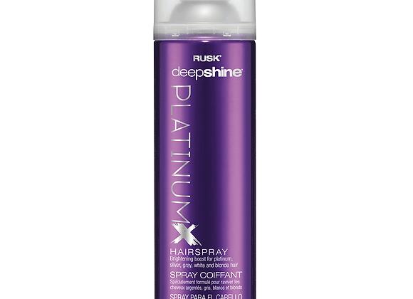Rusk - Deepshine Platinum X Hairspray 10.1 fl oz