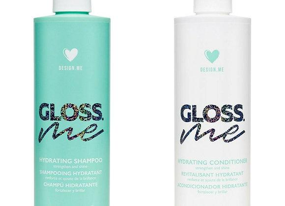 Design.Me - Gloss.Me Hydrating Shampoo 10.1 oz and Conditioner 10.1 oz