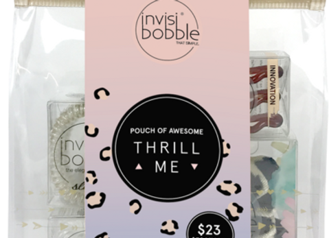 Invisibobble - Pouch Of Awesome Thrill Me
