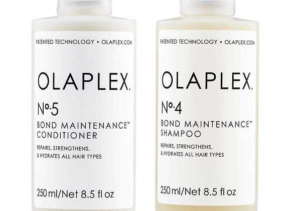 Olaplex - No 4 Bond Maintenance Shampoo & No 5 Bond Maintenance Conditioner
